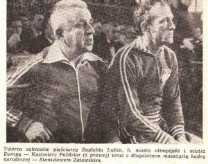 Z kart historii lubińskiego boksu