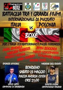 Niedługo wystąpimy na ringu we Włoszech!