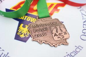 Michał Wojtkiewicz z akademickim medalem!