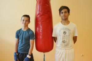 Trening Szymona i Jakuba (VIDEO)