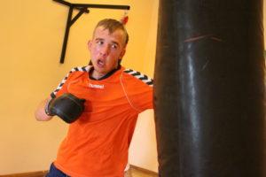 Mocne uderzenie, czyli trening Łukasza (VIDEO)
