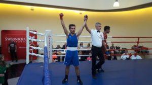 Sukces Szymona Mazij w międzynarodowym ringu